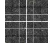 Мозаика Italon Room Black Mosaico 300х300