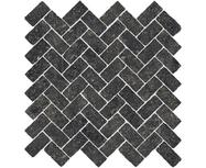 Мозаика Italon Room Black Mosaico Cross 300х300
